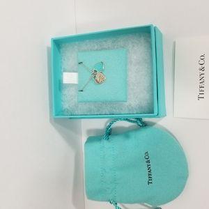 Tiffany & Co. Jewelry - AUTH Return to Tiffany mini double heart pendant